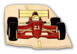 Indy Car Intarsia Pattern