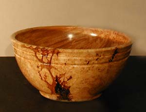 big leaf maple burl bowl
